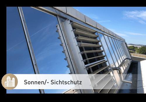 Sonnen-Sichtschutz